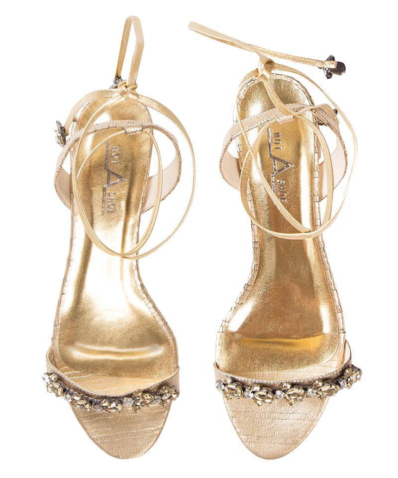 Sandalia-Abelha-Champagne-Frente
