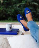 Loafer-Tartaruga-Azul