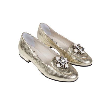 Loafer Metalizada