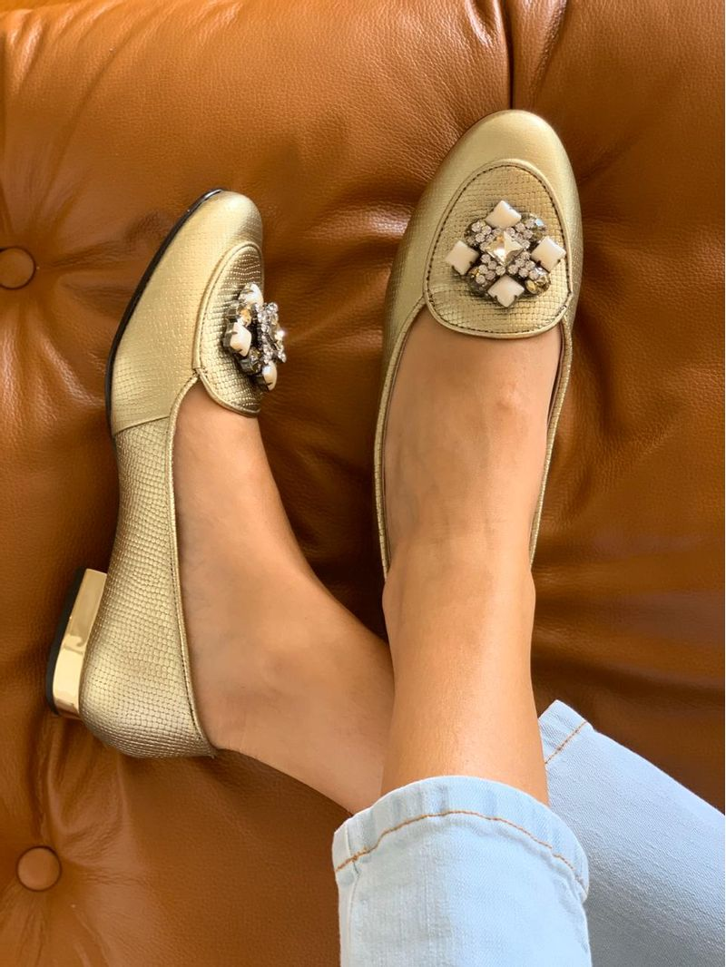 loafer-metalizada